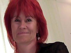Nice body on this mature redhead