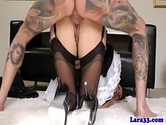 Mature in maids outfit pounded roughly