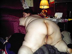 Shared ssbbw wife showing off