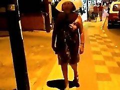 Solo #53 Granny GILF Three Videos Naked in Public