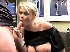 Slutty MILF Amazing Deepthroat And Gets Fucked Hard