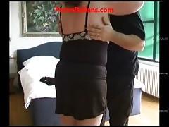 Amateur italian Coppia Matura mature couple fucking in the house