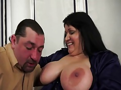 Hungarian BBw Milf Big Tits Anal action
