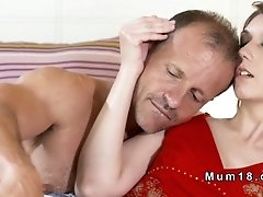 Hairy cunt mature banging and sucking