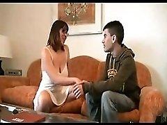 Saggy Tits MILF and Young Boy negrfloripa