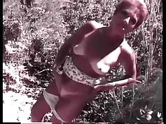 Granny Head #18 Stumbled upon a Redhead Granma Outdoors