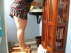 Butt ButtCleaning Lady negrofloripa