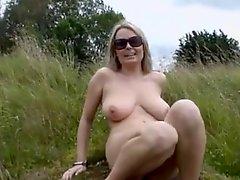 Big Boobs Blonde Fingering In Nature BVR