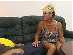 Aunt mature Renata and her nephew