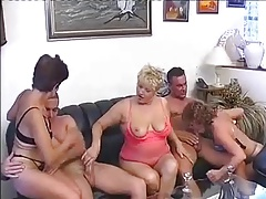 Group sex with mature women 9