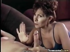 Young guy with milfs in a threesome