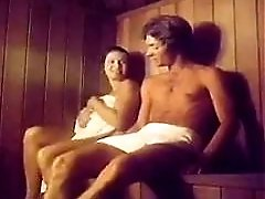 Vintage Sauna Threesome