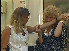 Blonde And The Beautiful Lesbian Scene
