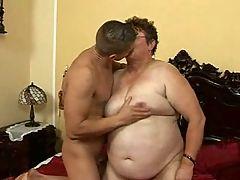 Hairy Fat Grandma Fucks