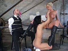 Fetish lesbians torture
