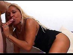 Mature brazilian blonde wonderful big ass take in every hole troia