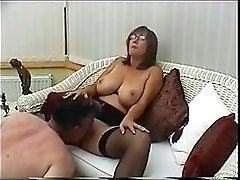 British MILF is a very naughty secretary