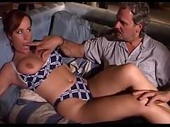 Italian daddy Remigio fuck Katty Moss and her girlfriend