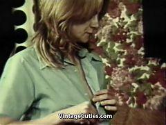 Swinger Couples Enjoy Group Sex Orgasms 1970s Vintage