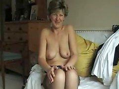 Sara stripping naked