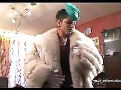 Elegant Czech Gypsy Fur Whore Fucking And Sucking A Cock