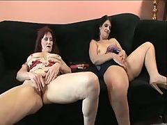Mature hairy lesbians
