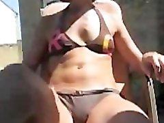 Watch me 47 years masturbating in the backyar