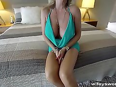 Wifey Gives An Amazing Blowjob And Swallows
