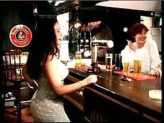British slut Victoria in a FFM threesome