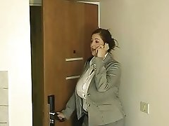 Busty Business Woman