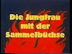 Vintage 70s german Die Jungfrau mit der Sammelbuechse cc79