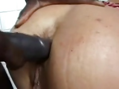 FRENCH Milf Assfucked in the kitchen