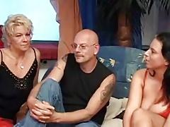 Good Mature & Milf German Threesome