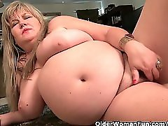 BBW milf Love Goddess feels horny and needs getting off