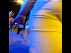 Lush Mature ass! Amateur voyeur!