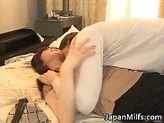 Extremely horny japanese milfs sucking and fucking hard