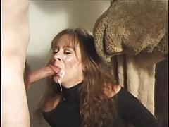 Amateur MILF blowjobs and facials slomo compilation