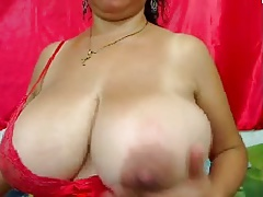 Big mature webcam boobs Bigger