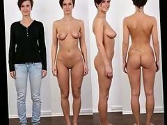 Clothed and Nude Video Photos Collection 4