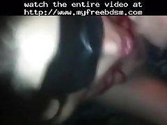 Mouthfucking my ex bdsm bondage slave femdom dominatio