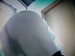 Grannies in the toilet! Russian Amateur! hidden cam