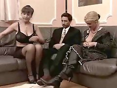 Gteat threesome with matures