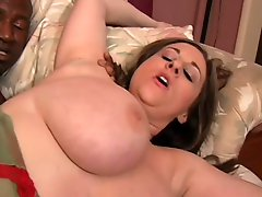 Busty BBW MILF Kitty Lee Takes BBC in Her Ass