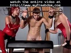 Strapon fucking 2 bdsm bondage slave femdom domination