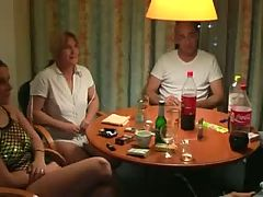 Two german girls getting their vaginas pumped up