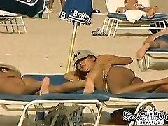 Naked Miami Beach Babes Pt 3