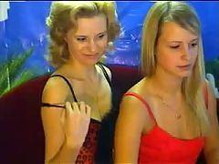 Lesbians teasing in free chatroom