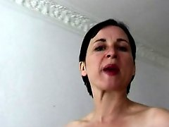 Hairy Susanne Sachsse with small empty saggy titties