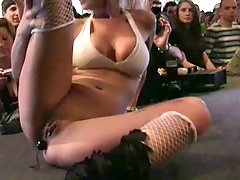V Schmitt german pornstar live on stage