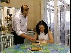 French Teen Blackmails her Private Teacher F70